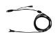 ビジコム 10インチTFT タッチパネルモニターBC-SD10TII用 USB延長ケーブル(3m)&ACアダプタセット BC-SD-Cbl30+AC