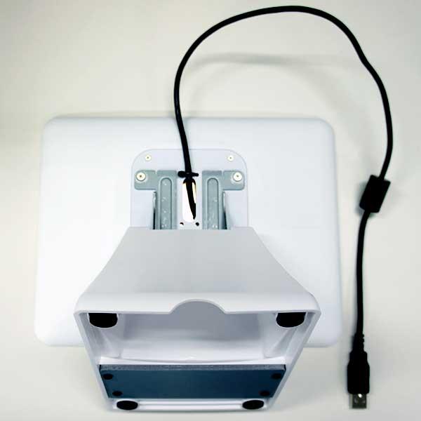 ビジコム 9.7インチTFT タッチパネルモニターBC-SD10TII-W グレア USB接続VESA規格対応 ホワイト(スタンド別売)