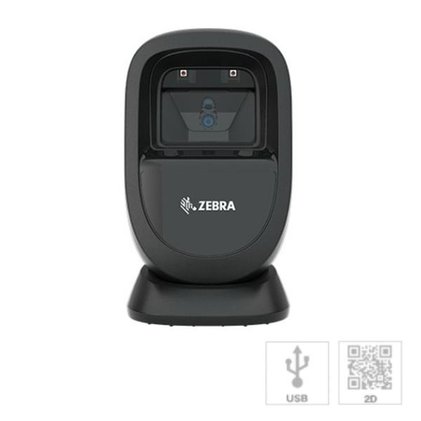 ZEBRA 二次元対応 プレゼンテーションスキャナ (黒・USB) DS9308SR-USBR-BL