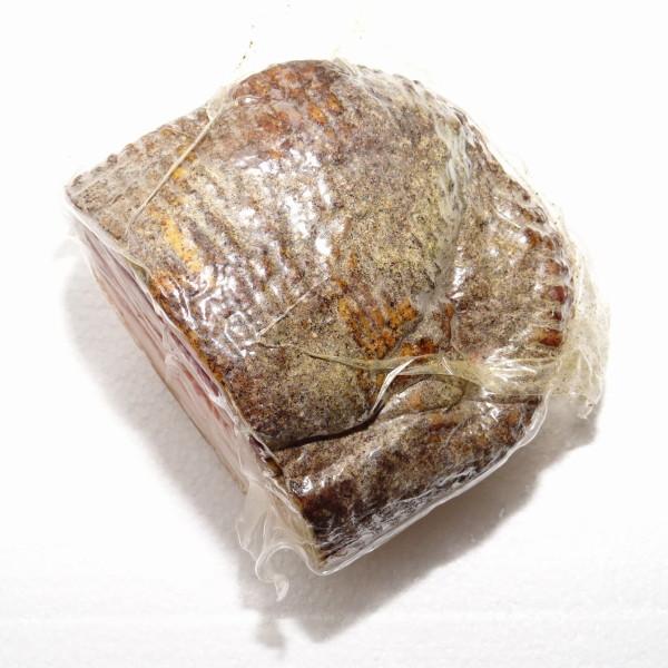 【2】【単価1980円/kg】【単位4.5kg】コルテボーナ グアンチャーレ(豚ほほ・豚トロの生ハム) ハーフカット