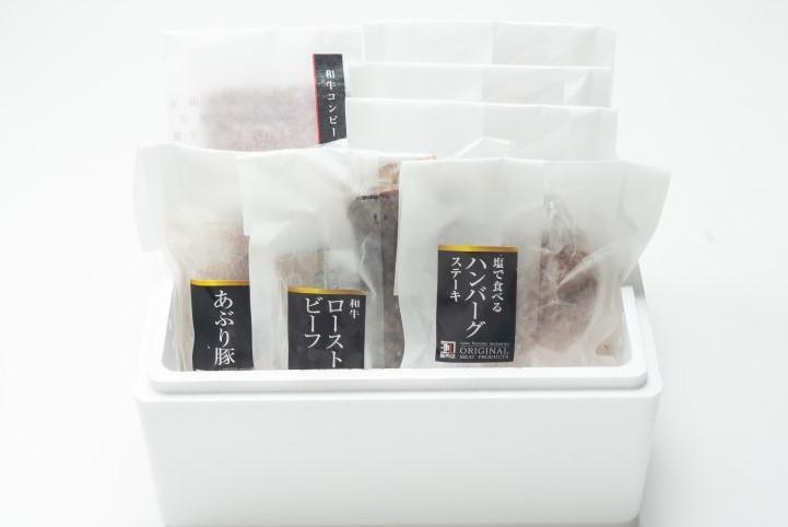 「お中元早割」池口プレミアムセット(4種の商品をご家族で楽しめます)