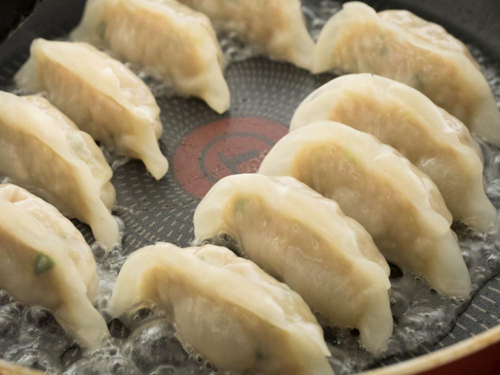 通販限定発売!自家製肉餃子(にんにくなし)5パックセット!