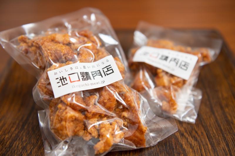 冷やして食べる鶏皮せんべい(凍ったまま食べてください。)
