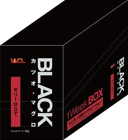 BLACK(ブラック) カツオ・マグロ ゼリー仕立て 80g×14P