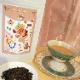 【食べれるお花】アリスの花園クッキーとカフェインレス紅茶チャイ ギフトセット/送料無料/アールグレイのクッキーで丘を作り、エディブルフラワーで花園を表現しました。敬老の日 贈り物 プレゼント 退職祝い ギフト のしがけ ラッピング無料(木曜迄の注文を翌週金曜迄出荷)