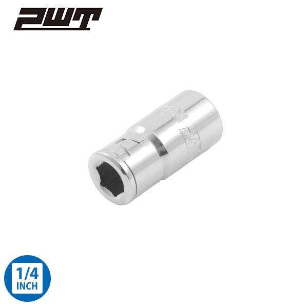 PWT ビットアダプターソケット 差込角 1/4インチ(6.35mm)  IC1414