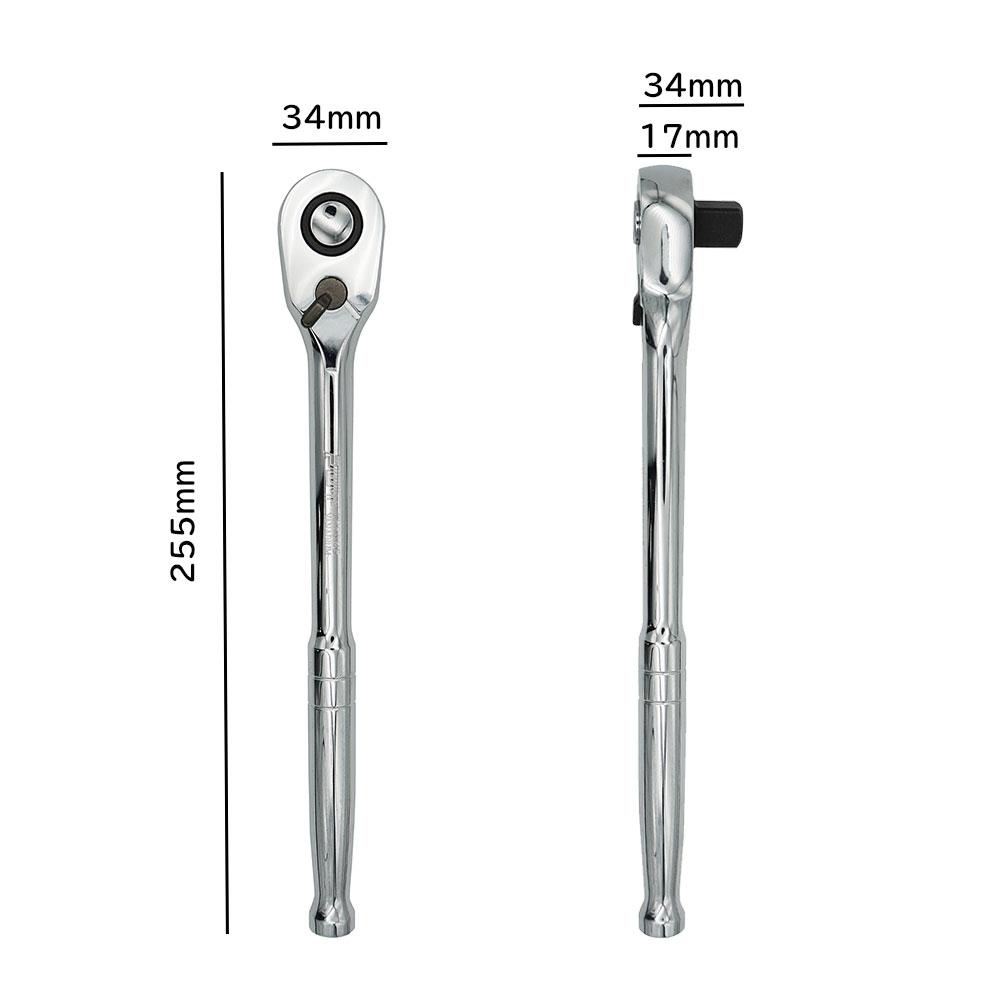 PWT 1/2インチ (12.7mm) ラチェットハンドル 108枚ギア IRH12D108