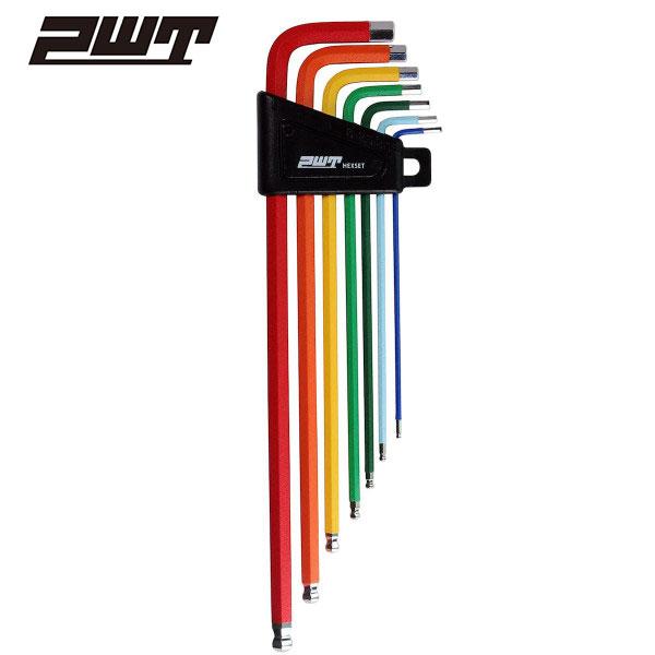PWT レインボー ボールポイント六角棒レンチセット 7本組 HWP7RB