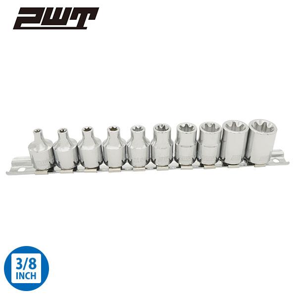 PWT E型トルクスソケットセット 差込角 3/8インチ 9.5mm IES38SET