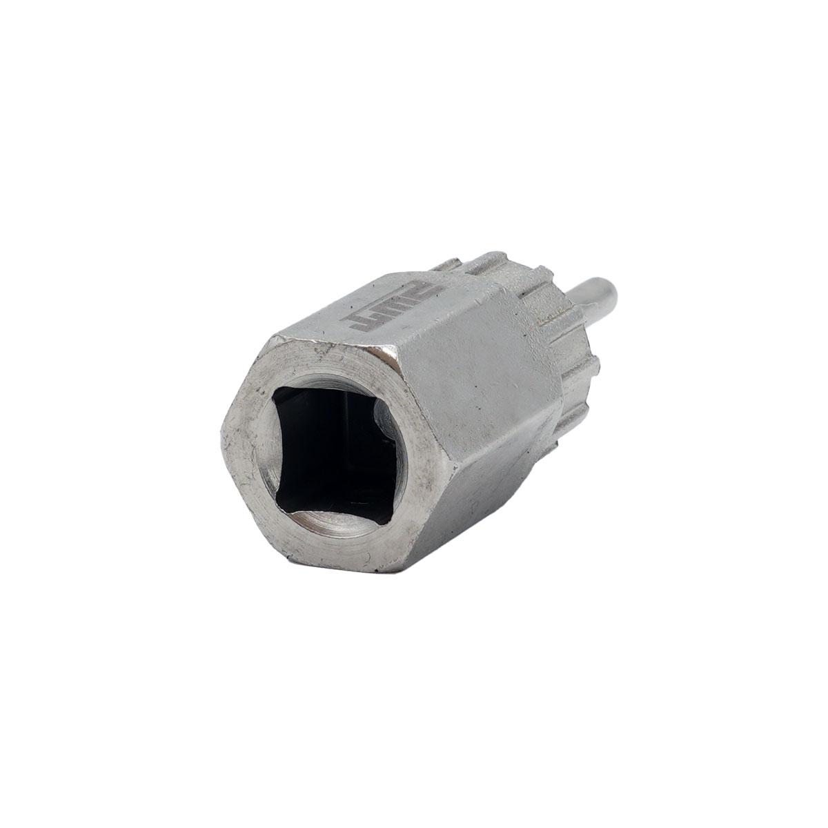 PWT フリーホイールリムーバー カセットスプロケット用ロックリング外し 工具 差込角1/2インチ シルバー FR1A