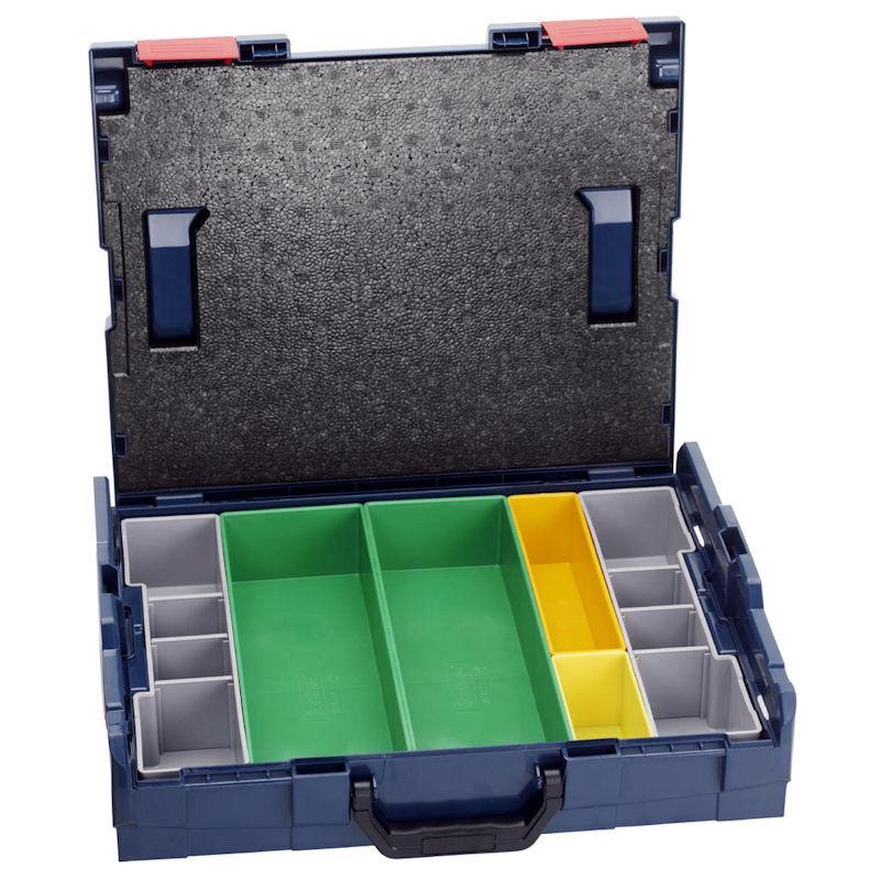 L-BOXX102S3 : ボックスS パーツ入れ3つき 汎用パーツ入れ  W442×D357×H117mm : ボッシュ電動工具