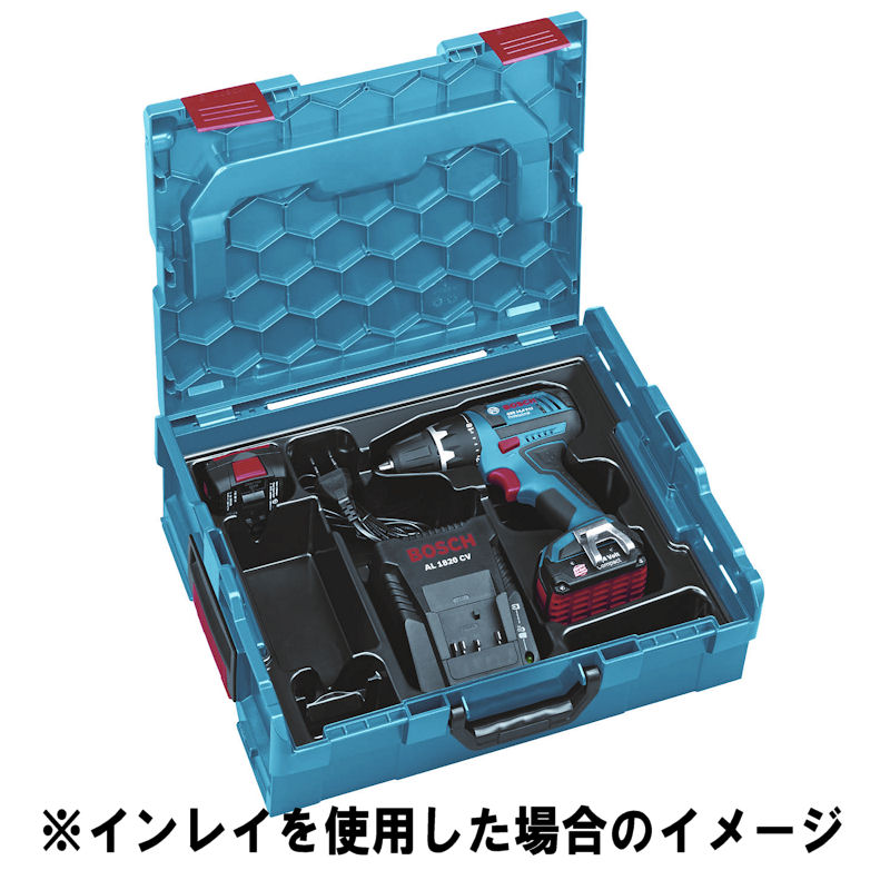 L-BOXX136N : ボックスM BOSCH汎用ケース W442×D357×H151mm : ボッシュ電動工具