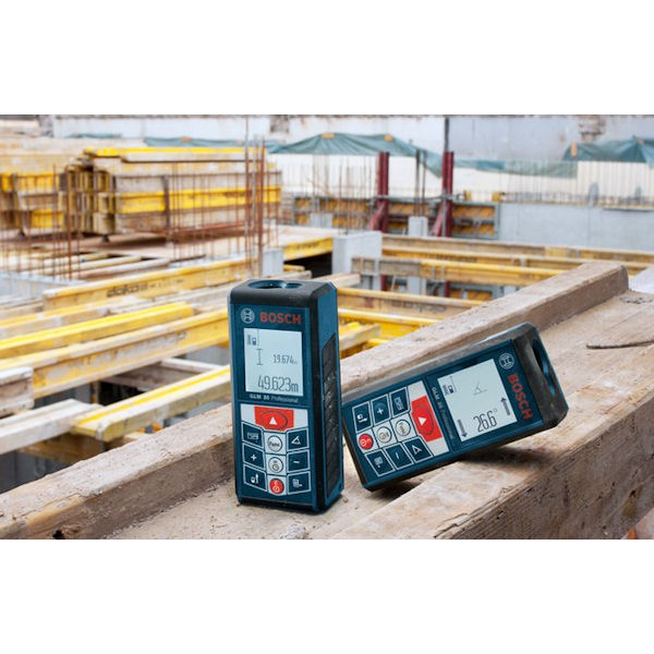 GLM80N : レーザー距離計(キャリングバッグ、充電器付) : ボッシュ電動工具(BOSCH)