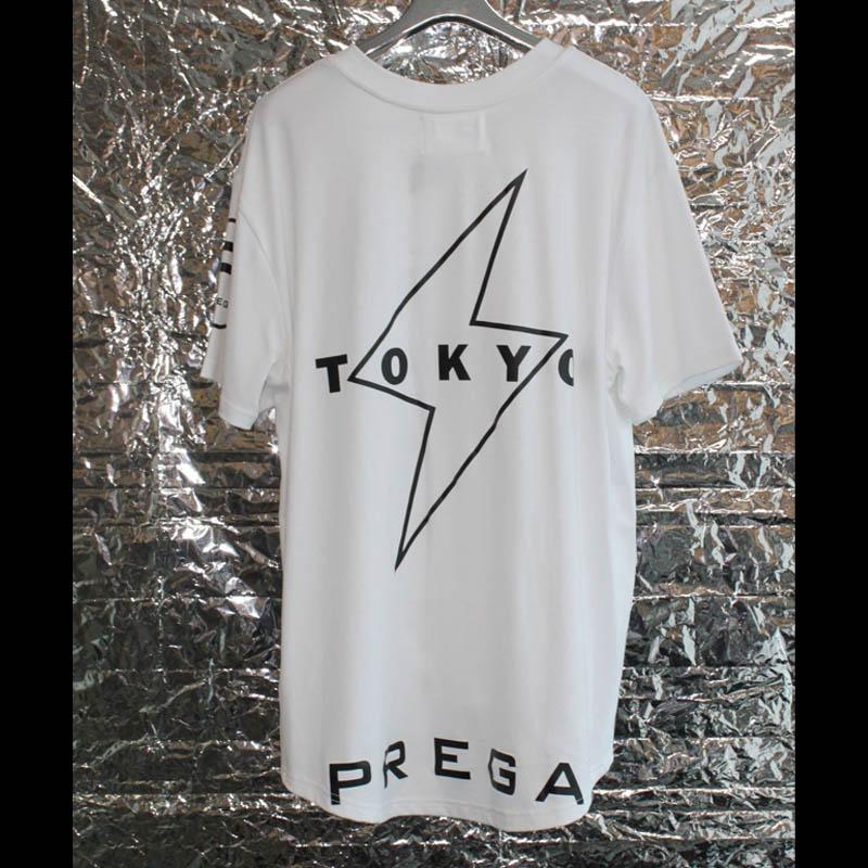 "【PREGA】限定 オリジナル""歌舞伎町""Tシャツ<ホワイト>"
