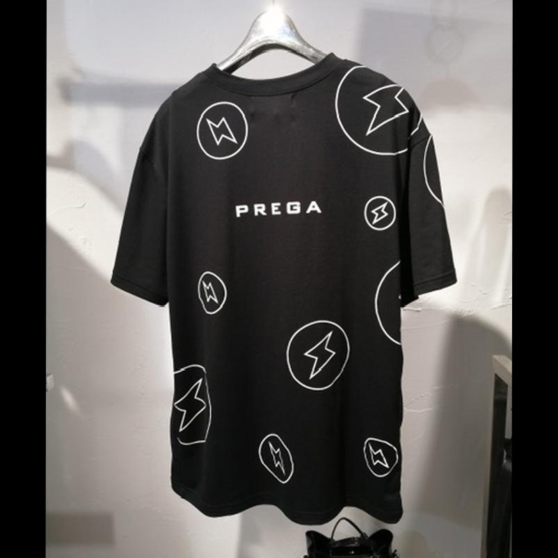 <br>お問い合わせ商品<br>【PREGA】オリジナル新宿稲妻プリントオーバーサイズTシャツ