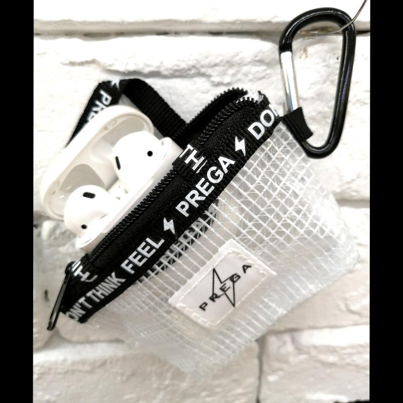【PREGA】PVCメッシュ オリジナルミニバッグチャーム