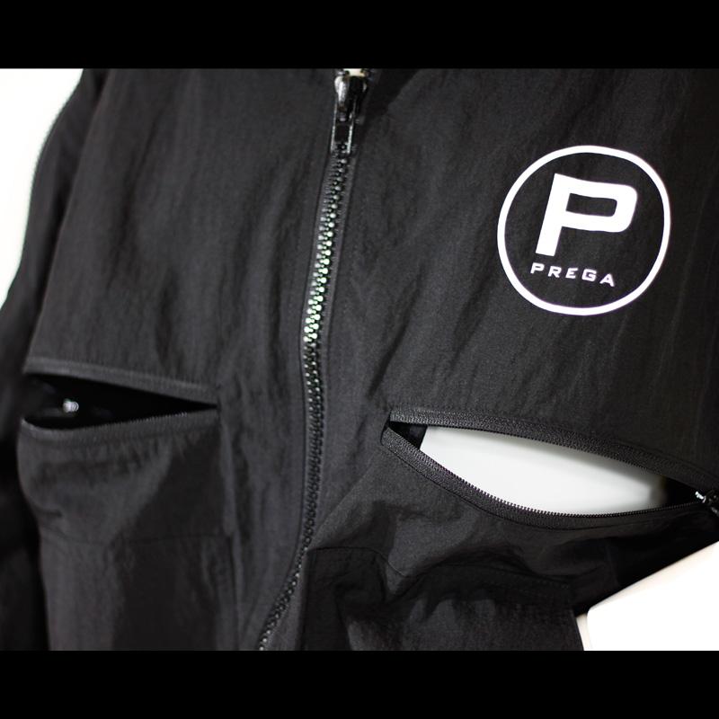 【PREGA】オリジナル パッカブルパーカー