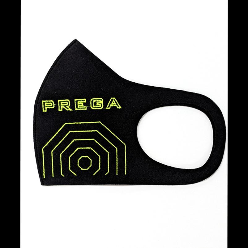 【PREGA】オリジナルマスク スパイダーウェブ<イエロー>