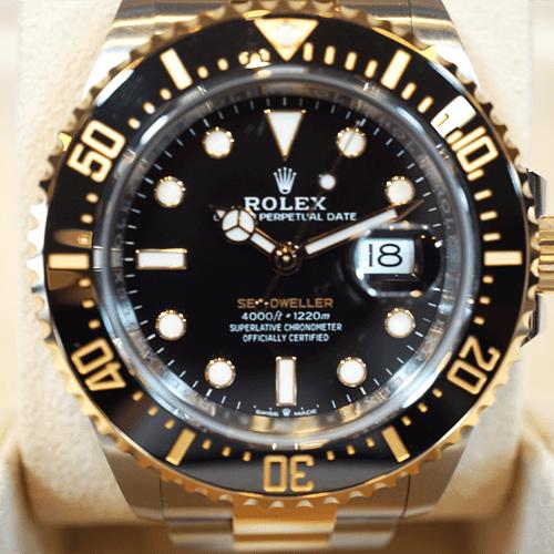 ロレックス シードゥエラー 126603 ブラック