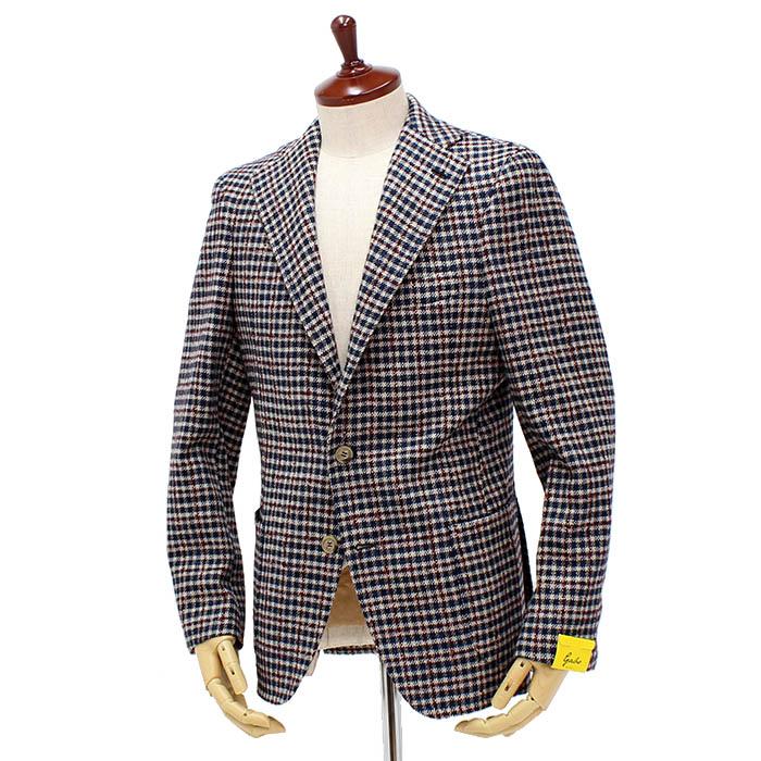ジアーボ(Gabo)<br>3B ウール/シルク シングルジャケット<br>GABO/16217-322-2<br>送料無料