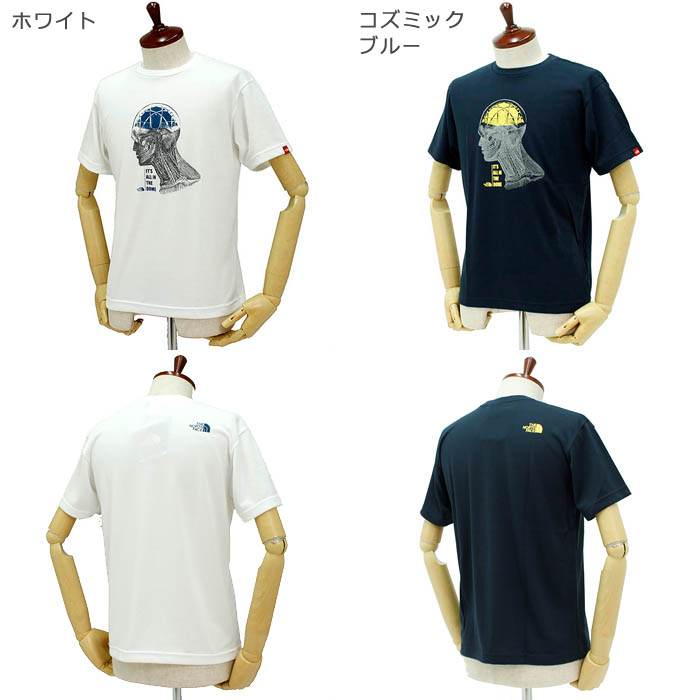 ザ・ノース・フェイス(THE NORTH FACE)<br>Tシャツ<br>ROPE BRAIN TEE<br>NT31336
