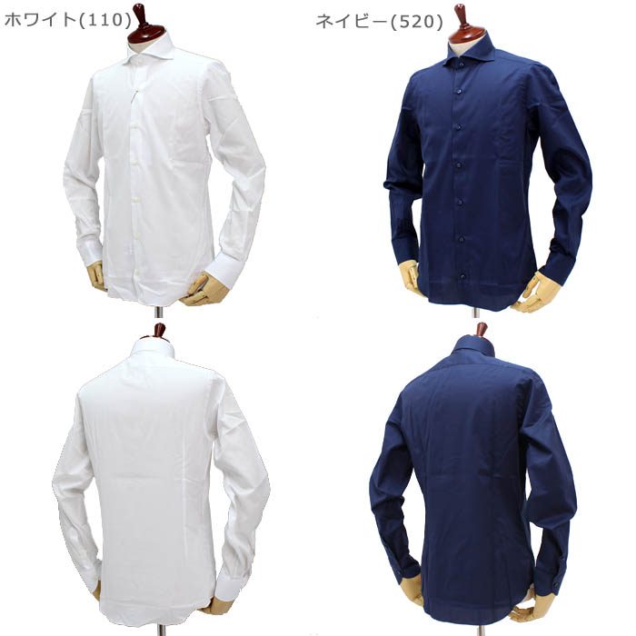 フラルボ(FRALBO)<br>コットンシャツ<br>492-23359001<br>2025 SPORT-NA<br>送料無料