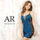 【Angel R】サイドレースビジュータイトミニドレス