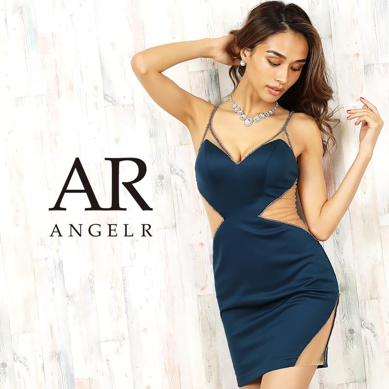 【Angel R】ダイヤカッティングシアータイトミニドレス