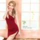 【Angel R】カッティングデザインワンショルダータイトミニドレス