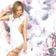 【Angel R】ビジュー&メッシュカッティングタイトミニドレス