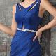 【IRMA】ワンカラーカットワークスリットロングドレス