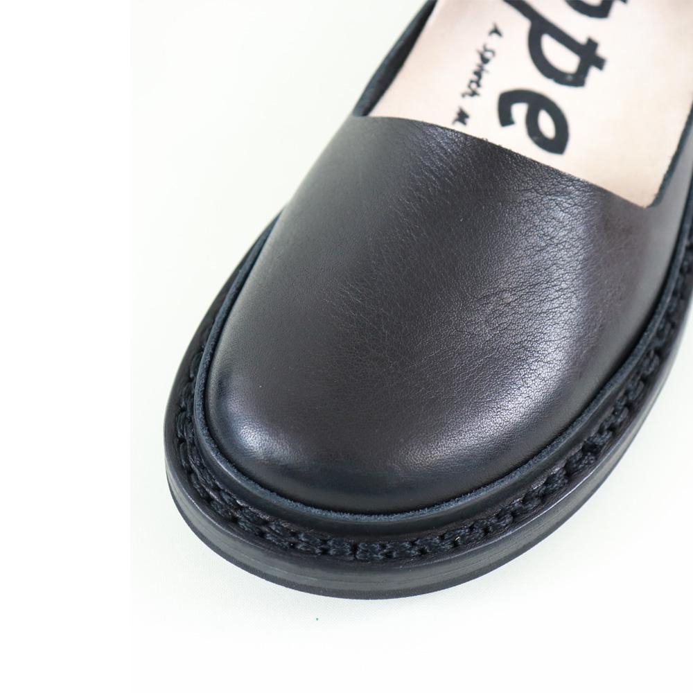 (トリッペン) trippen Fringe granit black レザー ストラップ シューズ レディース 靴 ドイツ製 インポート 本革 【正規取扱店】春 夏 秋 冬20代 30代 40代 50代  ( fringe-waw )