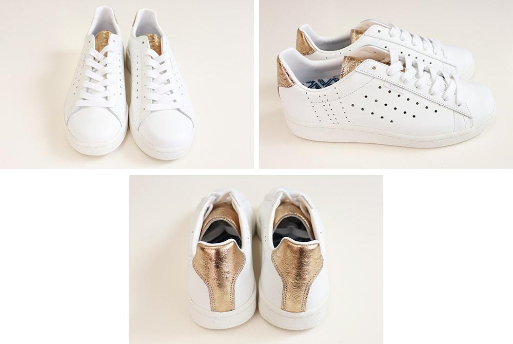 【クーポン利用不可】<br>パトリック PATRICK<br>QUEBEC+MP ケベック プラス メタリックパンサー W/G ホワイト/ゴールド 白 スニーカー レディース メンズ ユニセックス 靴 春 夏 秋 冬 日本製<br>( 502705 )
