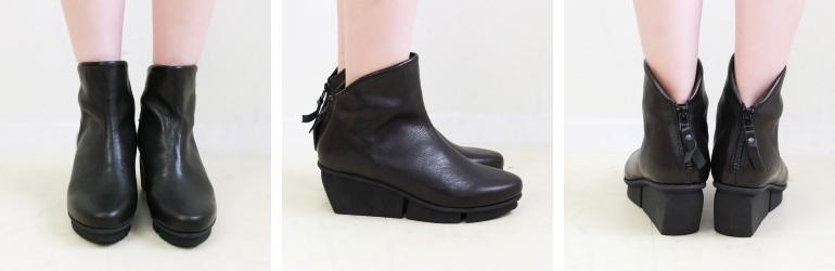 トリッペン trippen ブーツ レディースショート バックジップ レザー 靴 正規取扱店 春 秋 冬20代 30代 40代 50代 ( SWIFT-WAW )