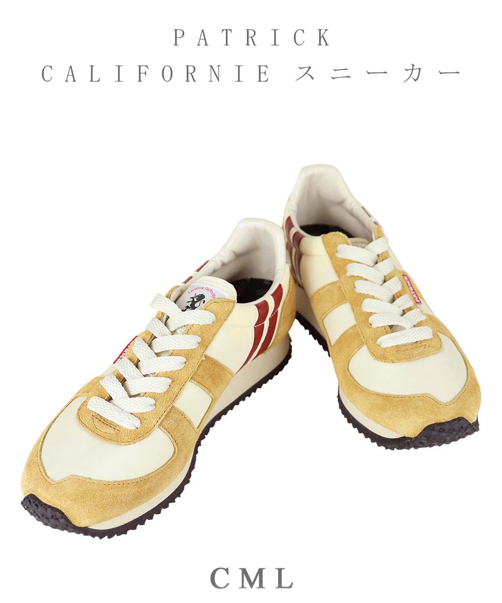 【クーポン利用不可】パトリック PATRICK CALIFORNIE カリフォルニー ライン入り スニーカー 靴 レディース メンズ ユニセックス シューズ 20代 30代 40代 50代 【】 プレゼント ( 502123 )