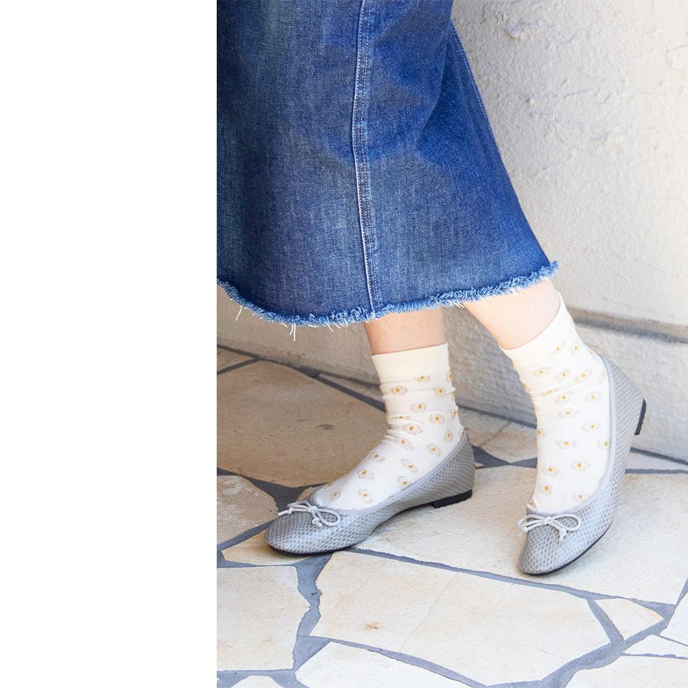 雨の日のお散歩もおしゃれしたい! 可愛いお色のレインシューズ<br>atelier bruggu ( アトリエブルージュ ) レインシューズ レディース おしゃれ バレエシューズ 靴 春 夏 秋 冬 20代 30代 40代 50代  プレゼント ( s-20bb-102 )