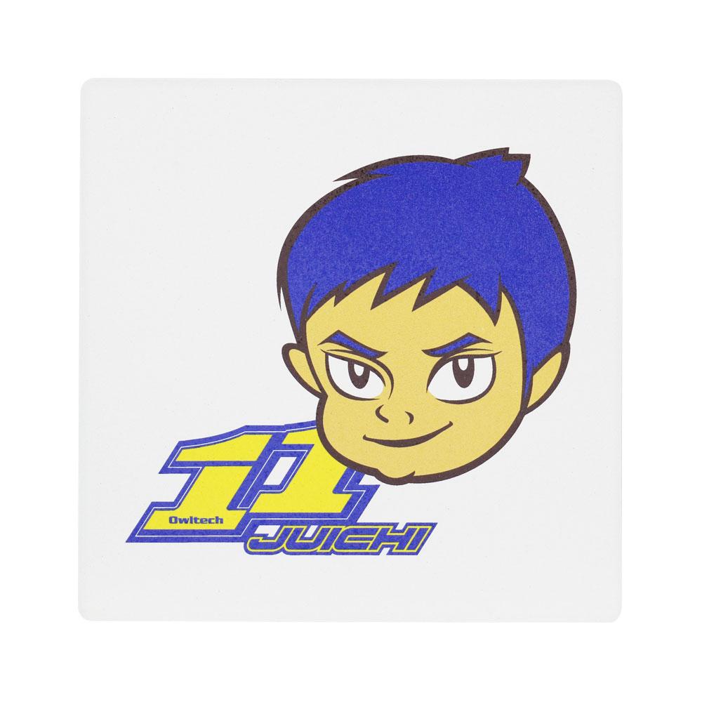【受注生産:ご注文から2週間前後で発送予定】コースター 脇阪寿一 キャラクター(LE-WAKISAKA-CT)宅C
