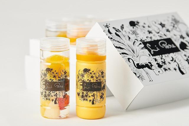 2種のプリンとフルーツポンチ詰め合わせ(6本入り)