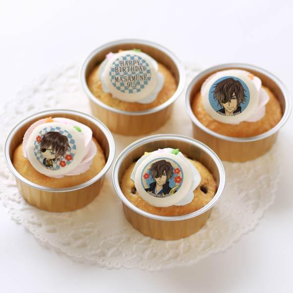 バースデープリカップケーキ2020(伊達政宗)[イケメン戦国◆時をかけるが恋ははじまらない]