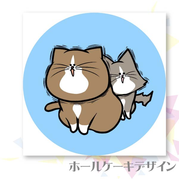 プリケーキ(C)【特典缶バッジ付き】[鴻池剛と猫のぽんたニャアアアン!]