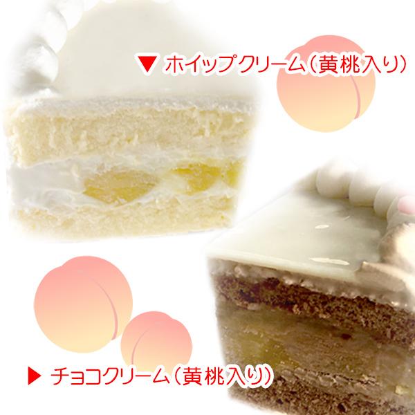 【メッセージ入り】プリケーキ(アイスクリーム柄(B))[すみっコぐらし]