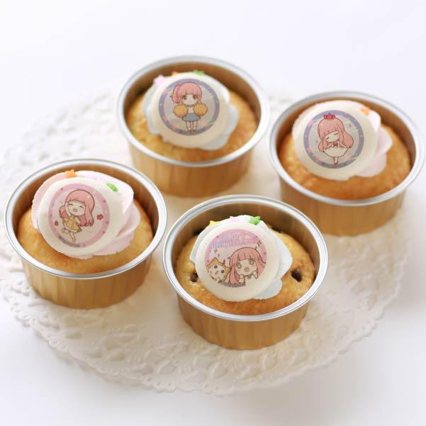 バースデープリカップケーキ2020(ニキ)【特典缶バッジ付き】[ミラクルニキ]