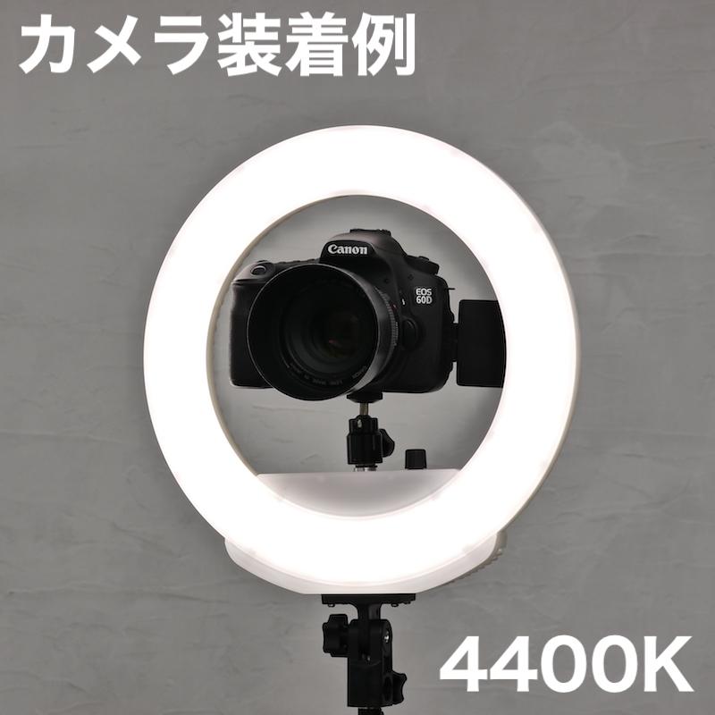 リングライトバッテリータイプS(ホワイト)_KR-12