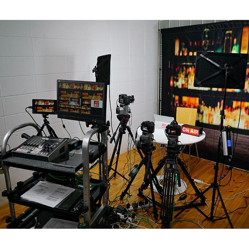 【プロ機材ドットコムオリジナル商品】動画配信本格スタジオセット_VBCSYS-P