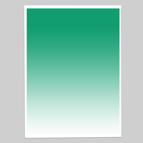 グラデーションペーパー単色(グリーン)GP-C4