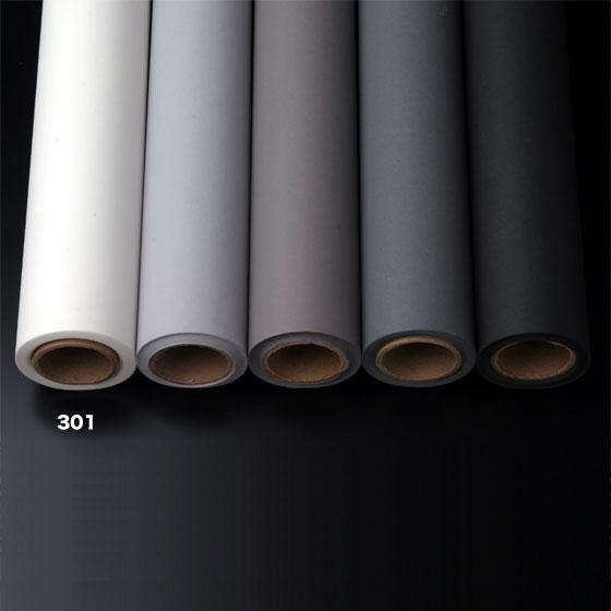 撮影用背景紙 1.36×11mロールバック紙   (301 スーパーホワイト(白色)/巻芯・梱包付)