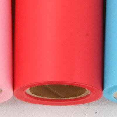 【販売終了】撮影用背景紙 1.36×11mロールバック紙   (308 プライマリーレッド(赤色)/巻芯・梱包付)