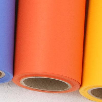 撮影用背景紙 1.36×11mロールバック紙   (324 オレンジ(橙)/巻芯・梱包付)