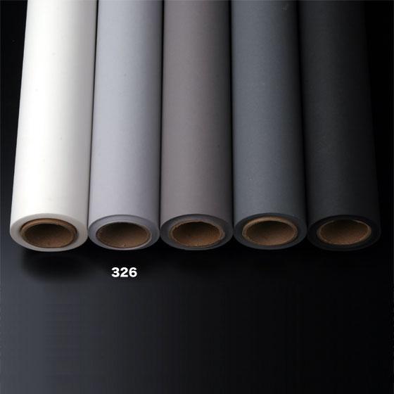撮影用背景紙 1.36×11mロールバック紙   (326 スレートグレイ(グレー/灰色)/巻芯・梱包付)