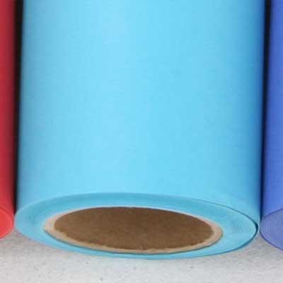 撮影用背景紙 1.36×11mロールバック紙   (331 ブルージェイ(青色)/巻芯・梱包付)